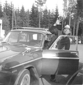 Yrityksen perustaja Jaakko Nykänen vuonna -66